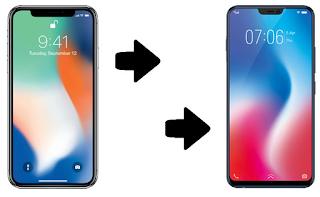 Begini Cara Mentransfer Data dari iPhone ke Vivo V9