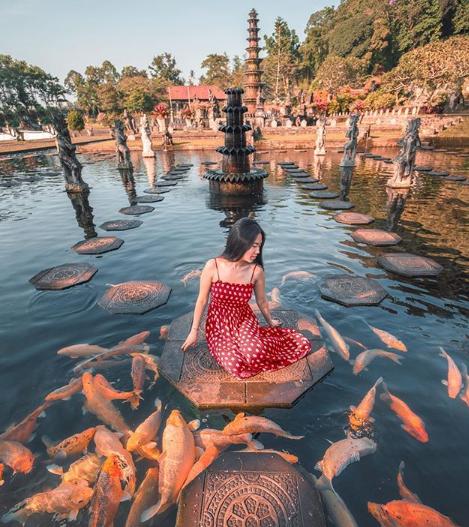 Tirta Gangga, Tempat Wisata Instagramable di Bali selain pantai