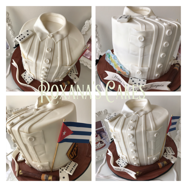 Baking With Roxanas Cakes 50th Birthday Cake Cuban Themed