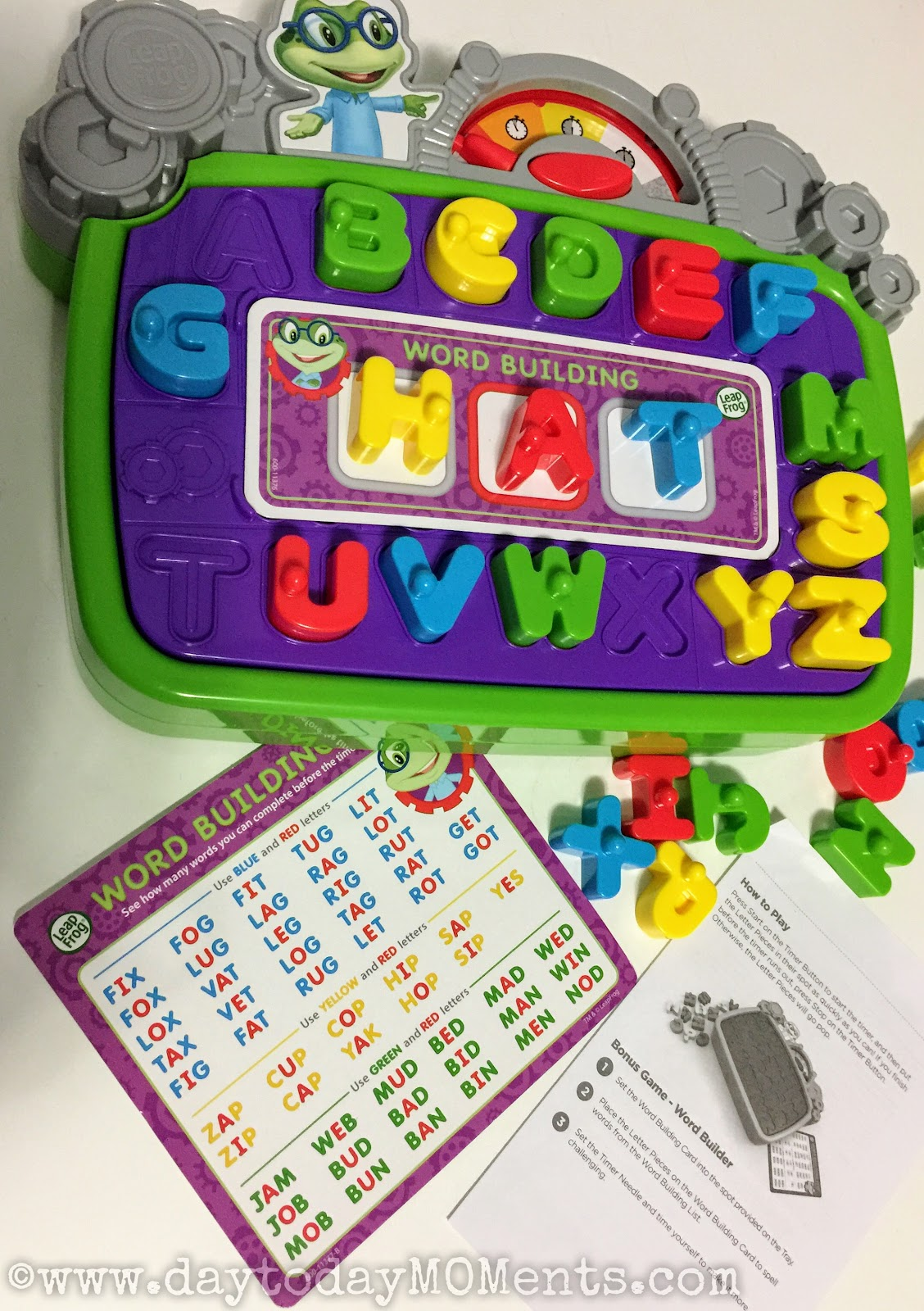 Day To Day Moments Leapfrog Letter Factory Leaping Letters