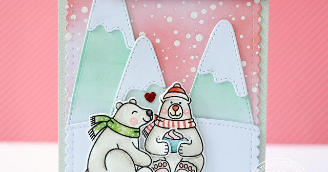 sunny studio playful polar bears winter themed everyday. Black Bedroom Furniture Sets. Home Design Ideas