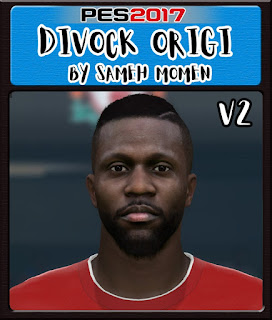 PES 2017 Faces Divock Origi by Sameh Momen