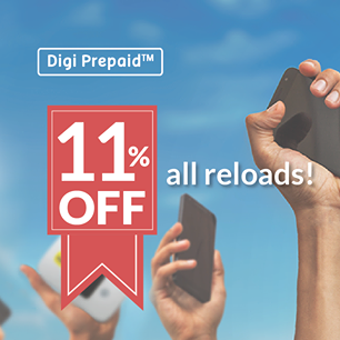 Top Up Digi Prepaid Reload Discount Offer Promo
