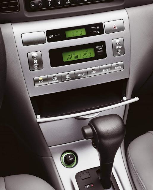 Toyota Corolla 2008 Flex - painel