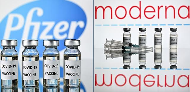 Anche i vaccini Pfizer e Moderna causano coaguli di sangue