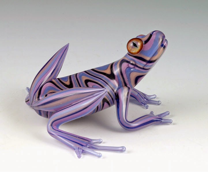 hand blown glass creatures sculptures scott bisson-5