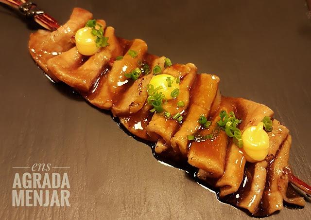 satay ventresca de tonyina