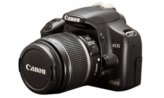 Harga dan Spesifikasi Kamera DSLR Canon EOS 450D Terbaru