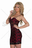 Rochie Daily Tag Red