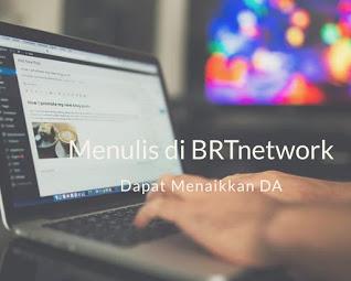 menulis di BRTnetwork menaikkan DA