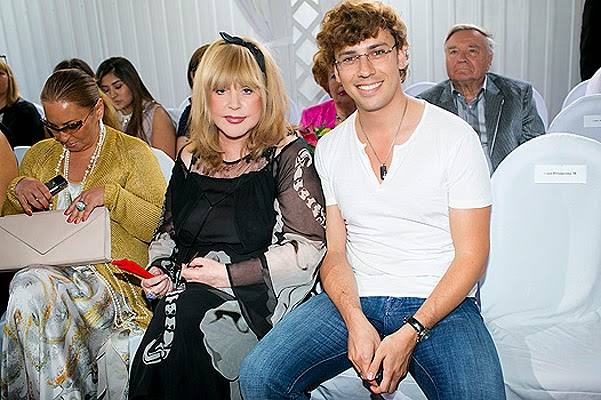 Alla Pugacheva and Maxim Galkin children named Elizabeth and Harry