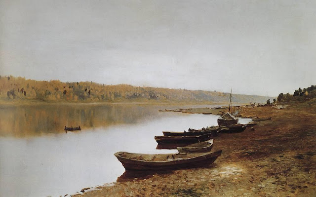 Исаак Ильич Левитан - На Волге. 1887-1888