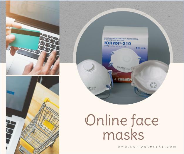 Les sites Web qui vendent des masques en ligne