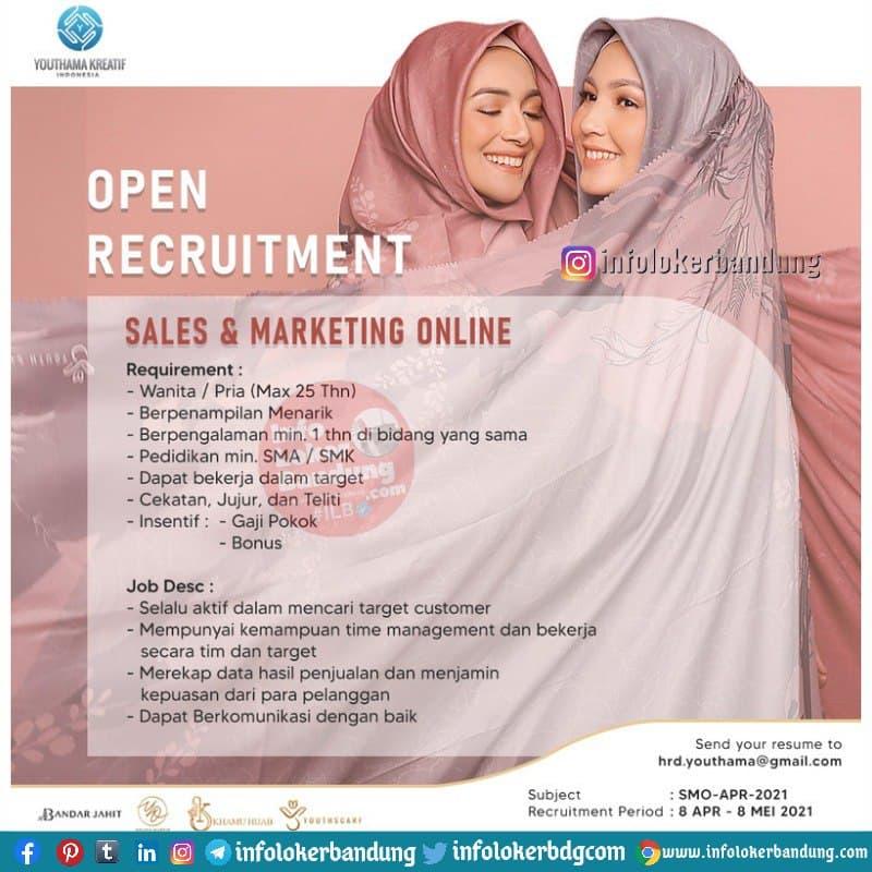 Lowongan Kerja Youth Scarf Bandung April 2021