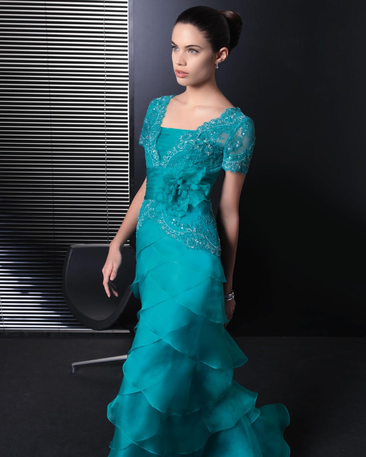 Vestidos Madrina Rosa Clara Tallas Grandes