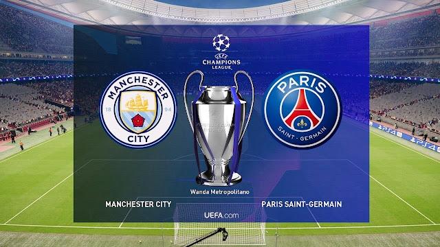 مباراة باريس سان جيرمان ومانشستر سيتي