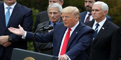 US-Präsident beschließt, die Finanzierung der Weltgesundheitsorganisation einzustellen