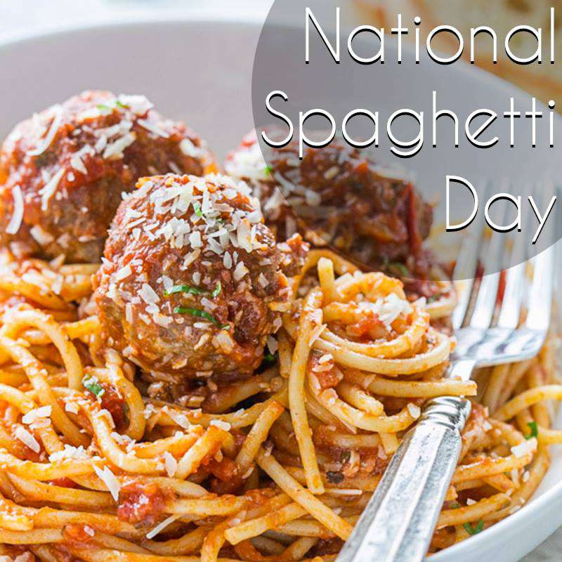 National Spaghetti Day Wishes Images downlo