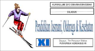 Silabus dan RPP Pendidikan Jasmani Kelas X,XI,XII SMA Kurikulum 2013 Versi Kemdikbud