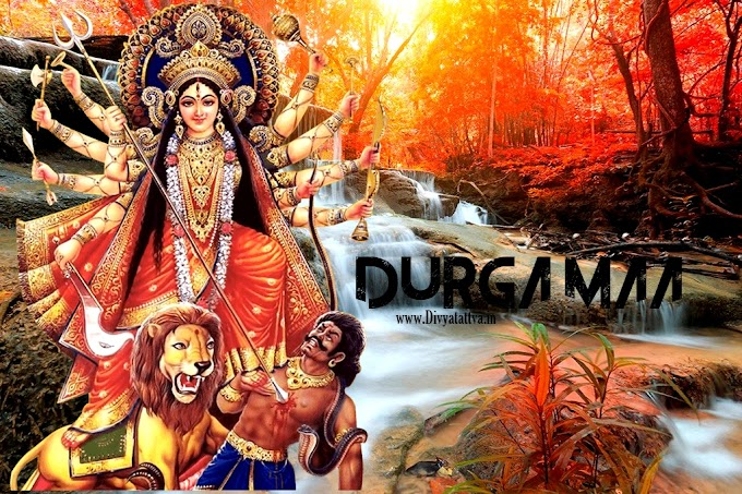 Durga Maa HD 4k Wallpapers Free Download Navrartri Backgrounds By Divyatattva