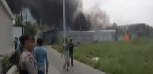 Kecelakaan Terbesar Karena Kembang Api