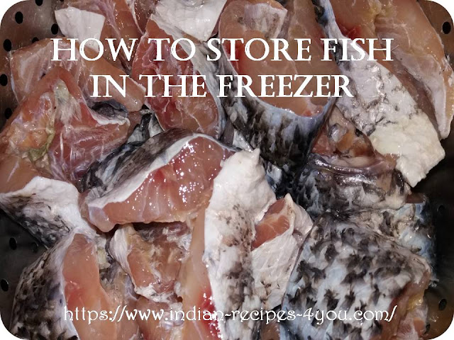 how to store fish in the freezer in hindi by Aju