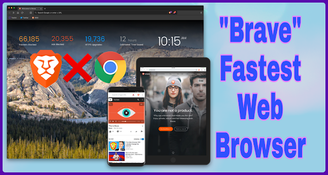 Brave Web Browser Review | Fastest Web Browser, an Alternative for Chrome Browser
