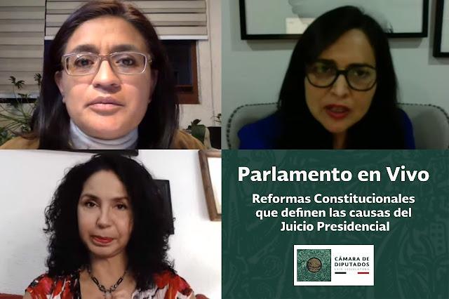 Gran avance para acabar con privilegios y corrupción, que el Presidente pueda ser juzgado por cualquier delito: Morena y PRI