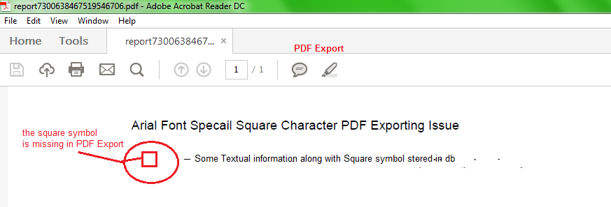 Tip Special Charactersquare Bullet Point Of Arial Font Type Is