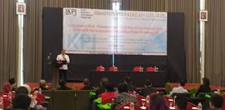 Kepala KPP Pratama Jambi Secara Resmi Membuka Seminar Perpajakan IKPI Cabang Jambi.