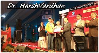 My Experience : National Level Inspire Award
