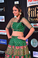 Nandita Swetha in a tight Green Choli Ghagra at IIFA Utsavam Awards March 2017 ~ 032.JPG