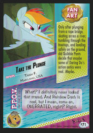 MLP Take the Plunge Series 4 Trading Card