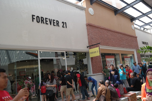 forever 21, freeport a'famosa outlet,