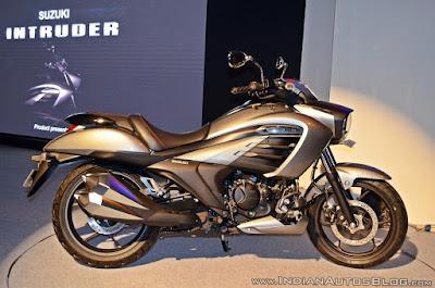 Suzuki Intruder 150 resmi dirilis di India