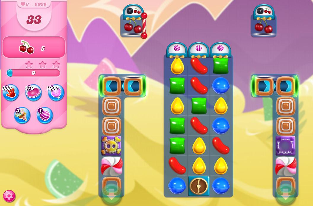 Candy Crush Saga level 9038