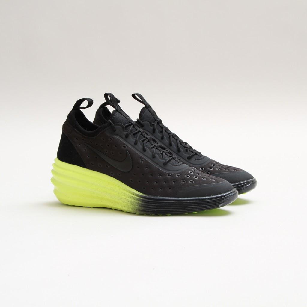 TODAYSHYPE  Nike Womens Lunar Elite Sky Hi QS (Black Volt) f8b3fbb1a