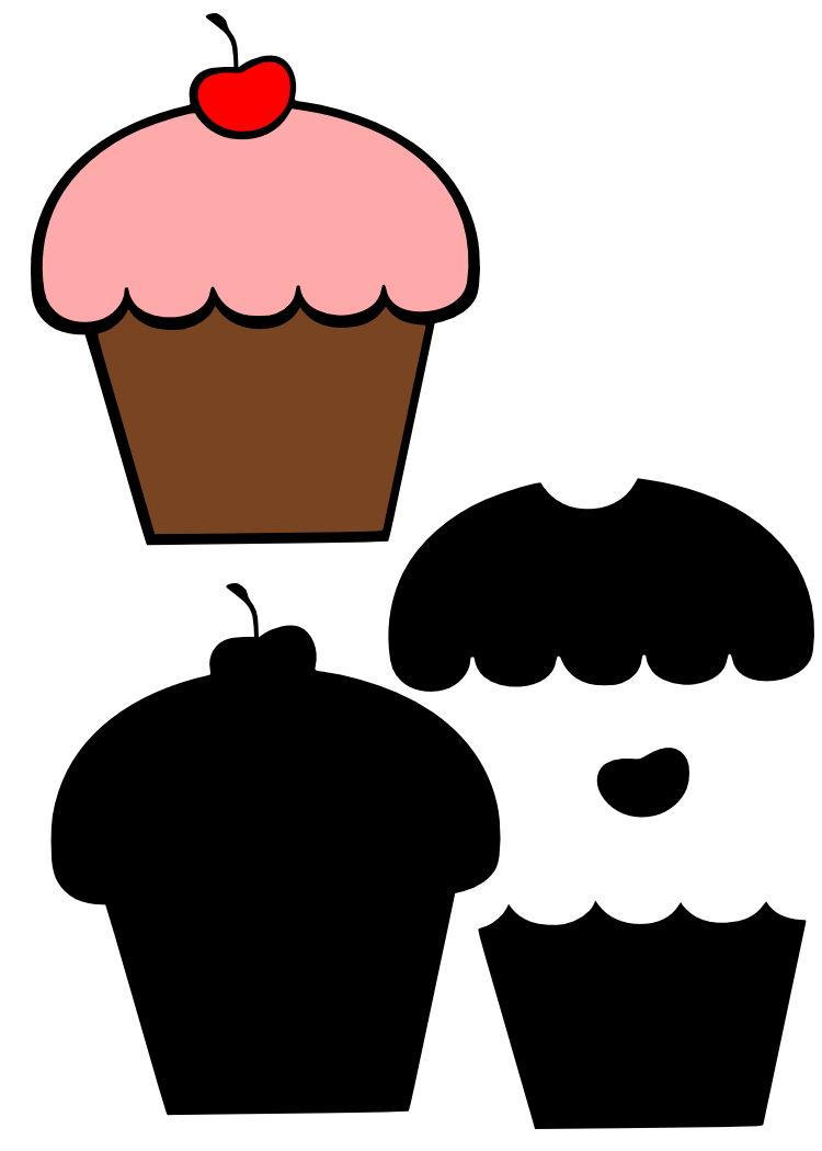 Kicky´s Craft Corner Cupcake Freebie für die Cricut (SCAL)