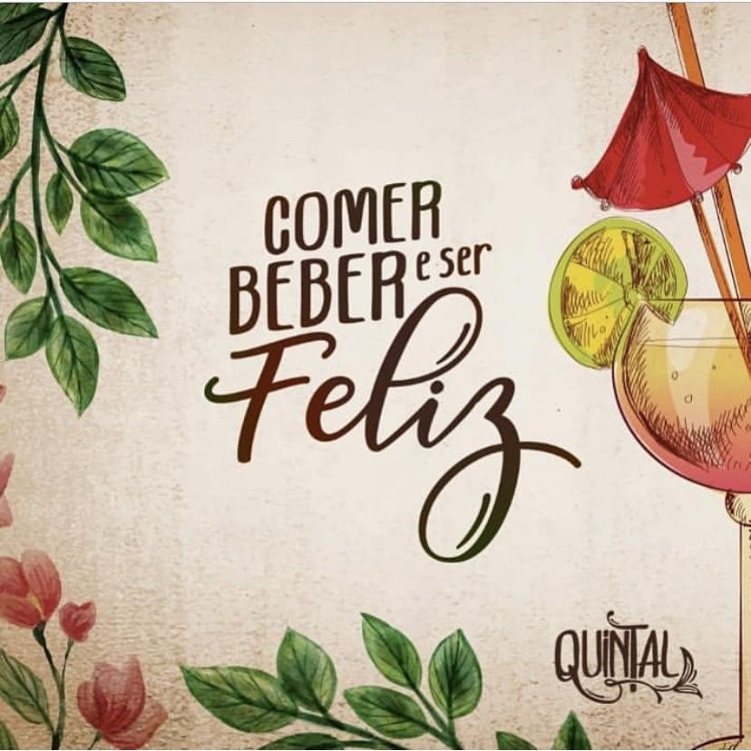 Quintal - Comer, beber e ser feliz
