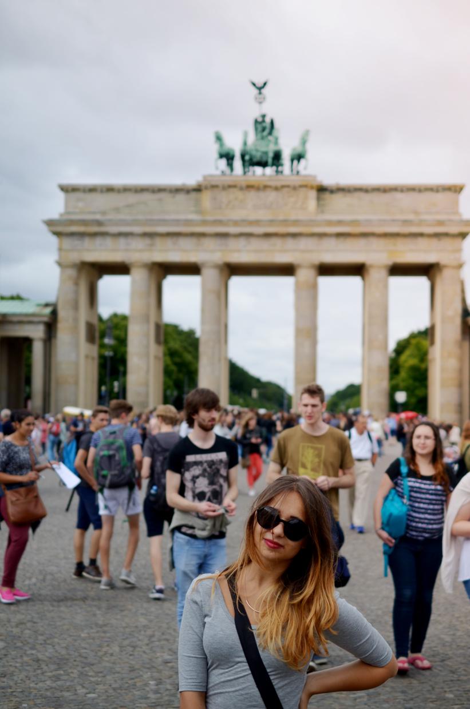 Keď vám tatinko fotí outfit v Berlíne
