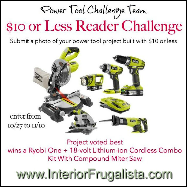 Power Tool Reader Challenge with Giveaway