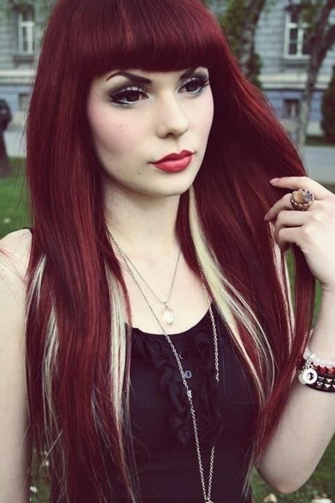La moda en tu cabello cabello te ido con colores intensos - Colores de moda ...