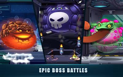 Mega Shooter Infinity Space War (Galaxy Heroes) MOD APK v1.0.9 for Android Original Version Terbaru 2018 - JemberSantri