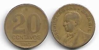 20 centavos, 1945