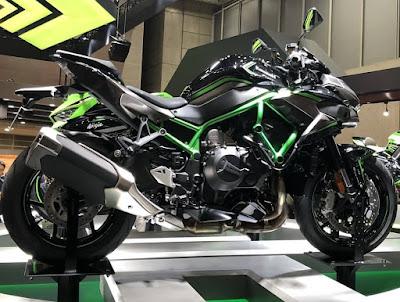 Kawasaki Z H2 Rilis di TMS 2019