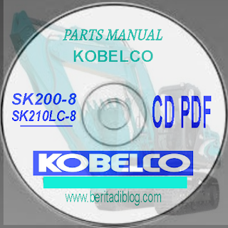 Parts Manual Kobelco SK200-8 SK210lc-8