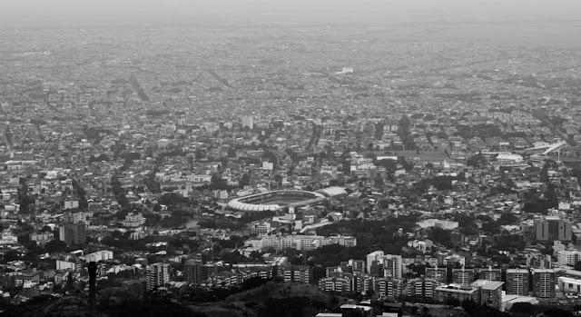 Vista panorámica de la ciudada de Cali, en ColombiaUnsplash/Andres F. Uran