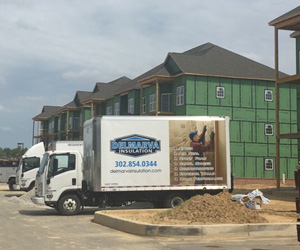 Dover Apartment Complex - Delmarva Insulation
