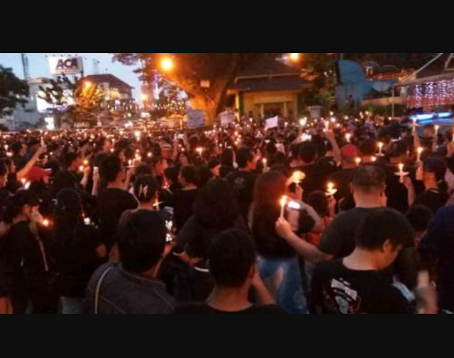 Klarifikasi Peserta Aksi Lilin terkait Berita Teriaki Adzan, Ternyata Keliru