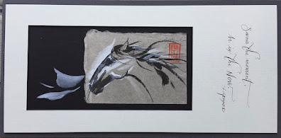 Original Sumi-e by Lynne Gerard
